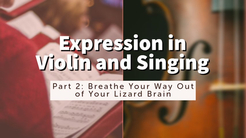 Expression Violin Singing Part 2