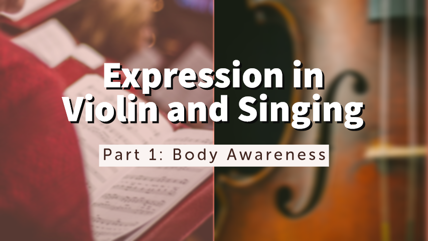 Expression Violin Singing Part 1