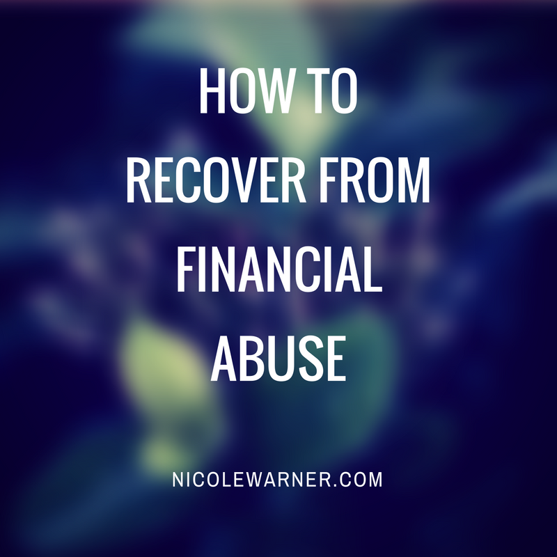 How to recoverfromfinancialabuse
