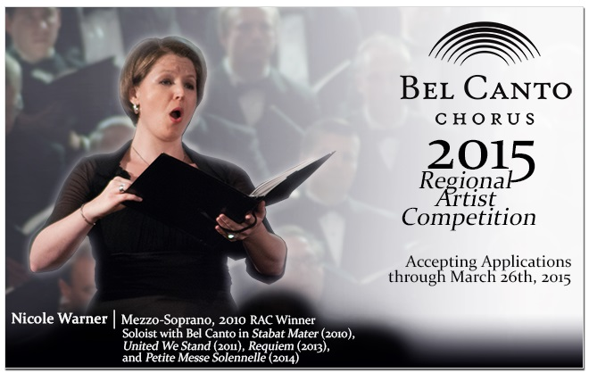 Bel Canto Regional Artist Competition 2015