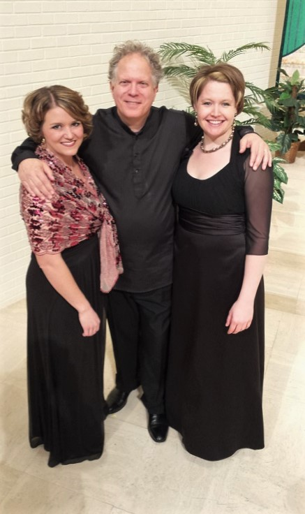 Post-2016 concert with Hannah Lu and Delta David Gier.
