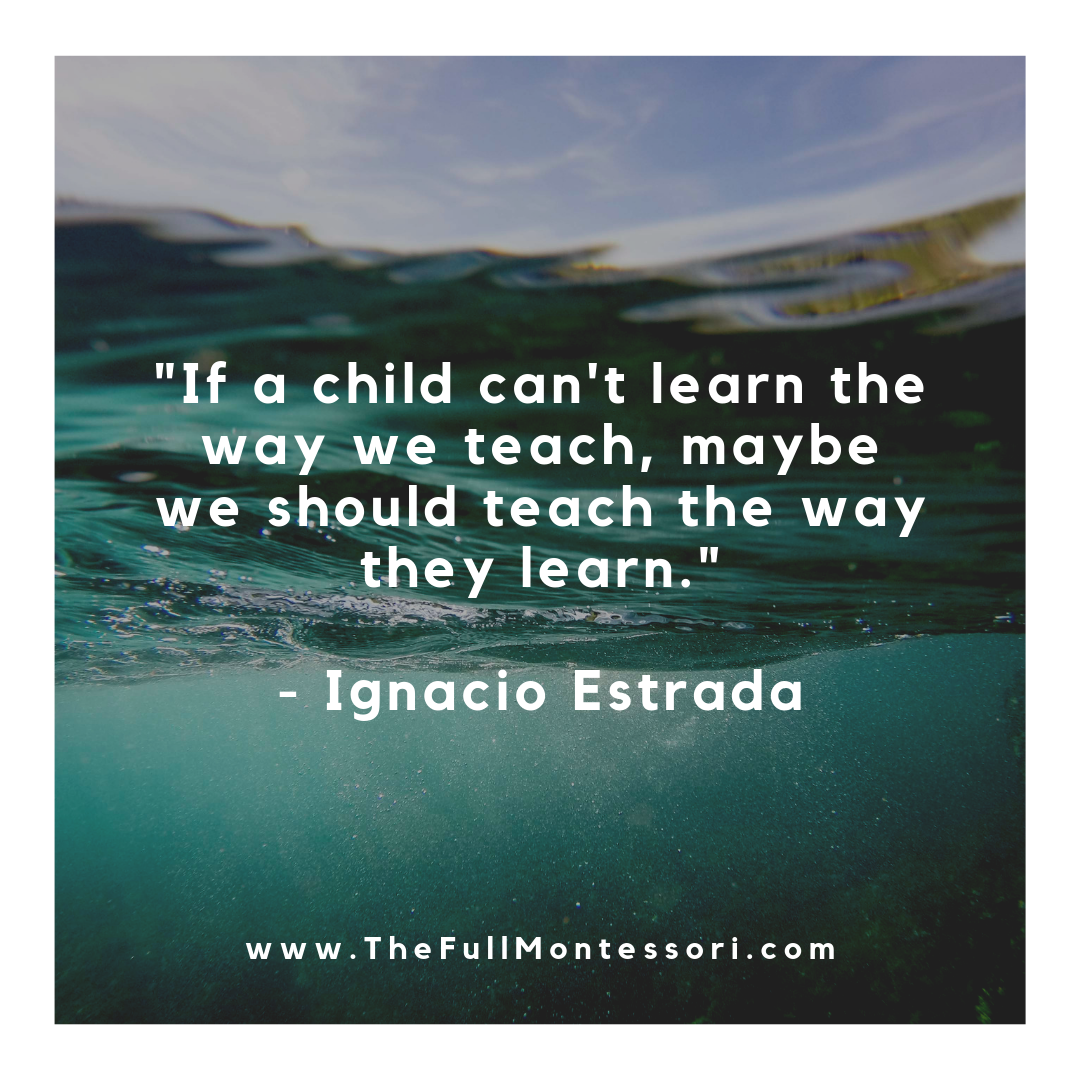 If a child can't learn the way we teach, maybe we should teach the way they learn. - Ignacio Estrada.png